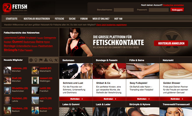 Fetisch Community: in2fetish.com
