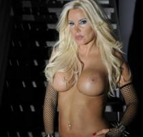 Tatjana Gsell in sexy Pose