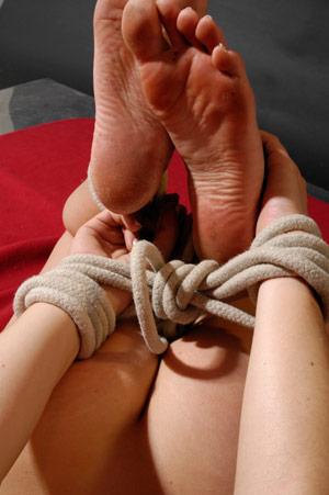 bondage-fussfetisch