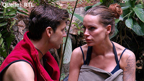 Gina zurück aus dem Dschungel
